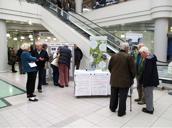 Howard Centre display - thanks for coming!