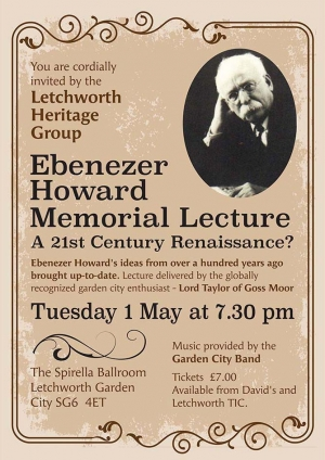 Letchworth Memorial Lecture