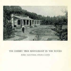 The Cherry Tree Restaurant in the Woods - from the book 41 Pictures of Welwyn Garden City published 1923