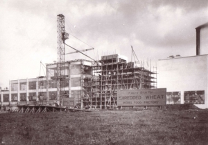 The 7 Acre Site for Shredded Wheat's Model Food Factory