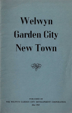 Welwyn Garden City New Town published May 1965
