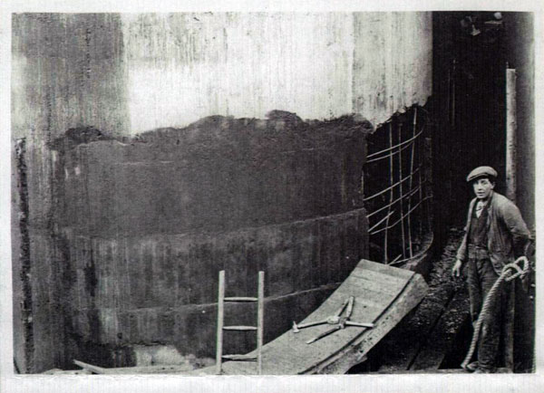 Peter Lind & Company archive - grain silo snag