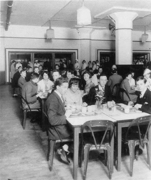 Shredded Wheat company dining room